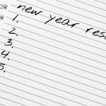 Setting new years resolutions