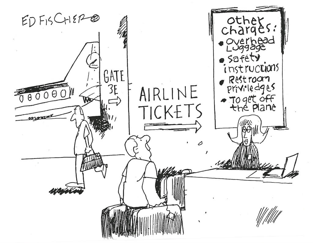 Airline Tickets- Other Charges- by Ed Fischer