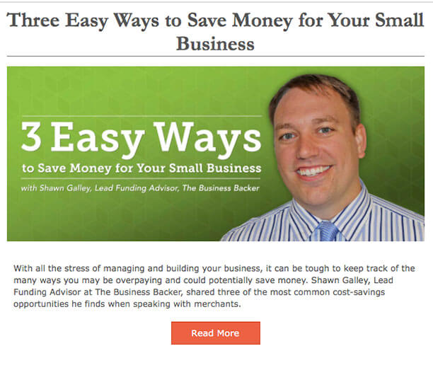 Three Easy Ways to Save Money for Your Small Business
