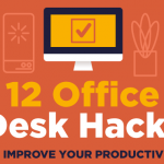 12 Office Desk Hacks to Improve Your Productivity Header