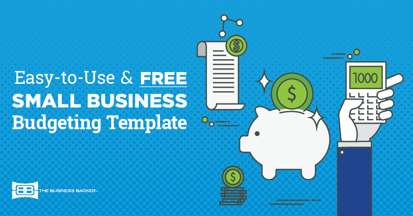 Free small business budget template the business backer free small business budget template accmission Gallery