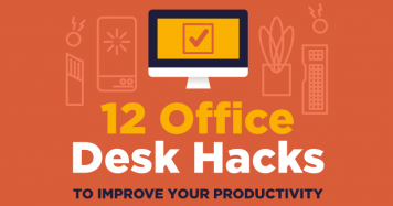 12 Office Desk Hacks to Improve Your Productivity