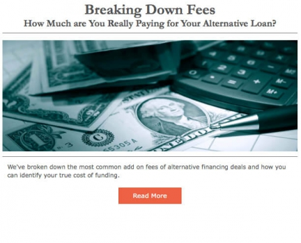 Breaking Down Fees - How Much are You Really Paying for Your Alternative Loan?